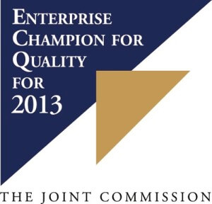 joint commission enterprise champion for quality for 2013 awarded to brightstar care