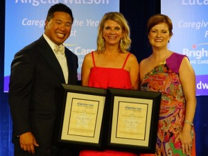 las vegas franchisee becky torrez recevies rook of the year award