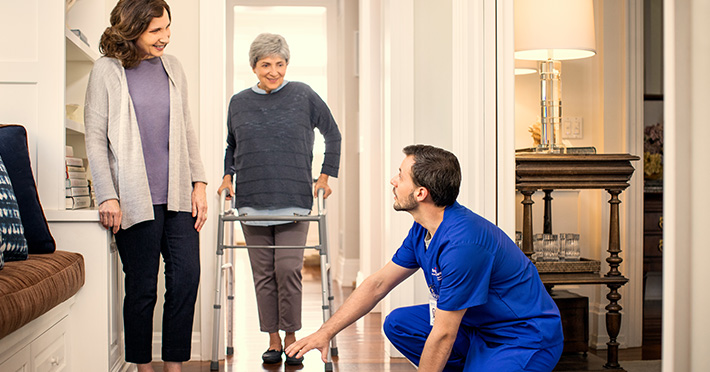 brightstar care services allow clients to receive hospital quality care in their own homes